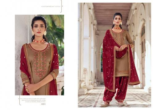 Kessi Fabric Patiala House 5881 Price - 849