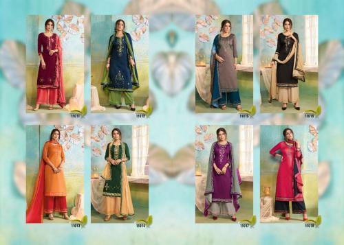 Kessi Fabrics Poshak 11011-11018 Price - 6392