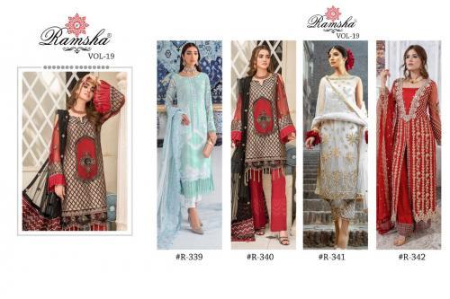 Ramsha R-339 to R-342 Price - 5820