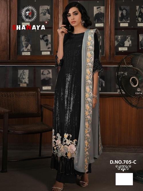 Shanaya Fashion Rose Craft Edition 705-C Price - 1275