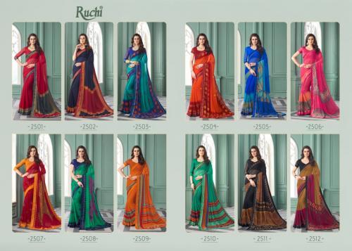 Ruchi Saree Saanvi 2501-2512 Price - 6720