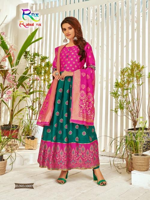 Rahul Nx Minakari Gown 1007 Price - 670