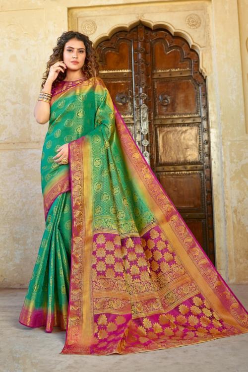 Sangam Prints Vijay-laxmi Silk 1301 Price - 1095