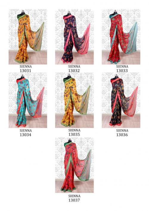 Mintorsi Saree Sienna 13031-13037 Price - 3290