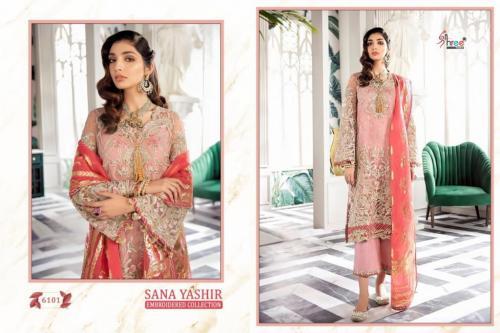 Shree Fab Sana Yashir 6101-6106 Series