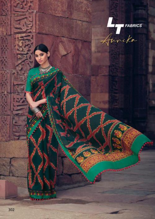 Lt Fabrics Nitya Aurika 302 Price - 570