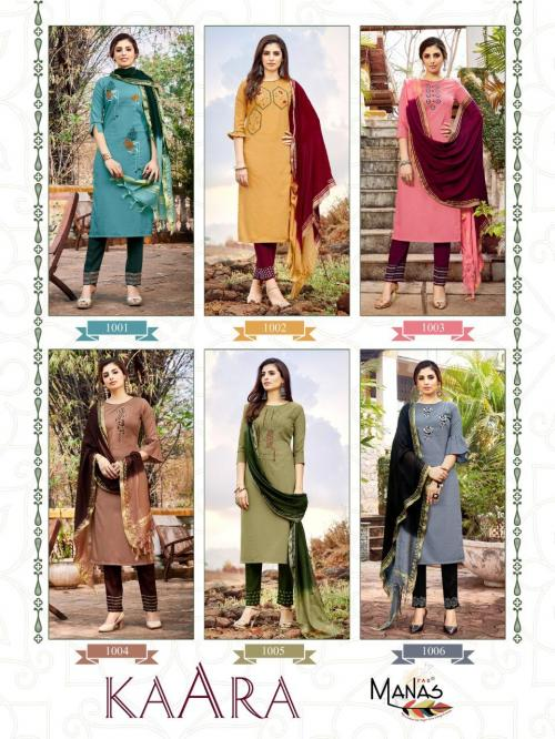 Manas Fab Kaara 1001-1006 Price - 4950
