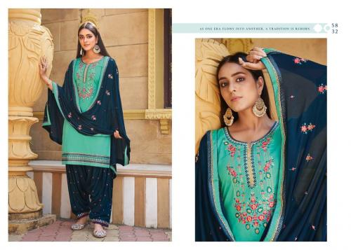 Kessi Fabrics Sitara By Patiyala House 5832 Price - 896