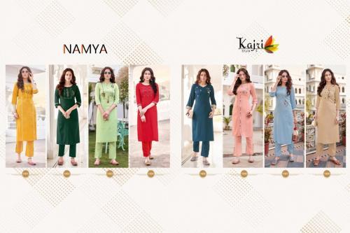 Kajri Style Namya 1001-1008 Price - 4360