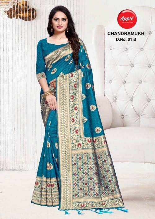 Apple Saree Chandramukhi 01-B  Price - 895