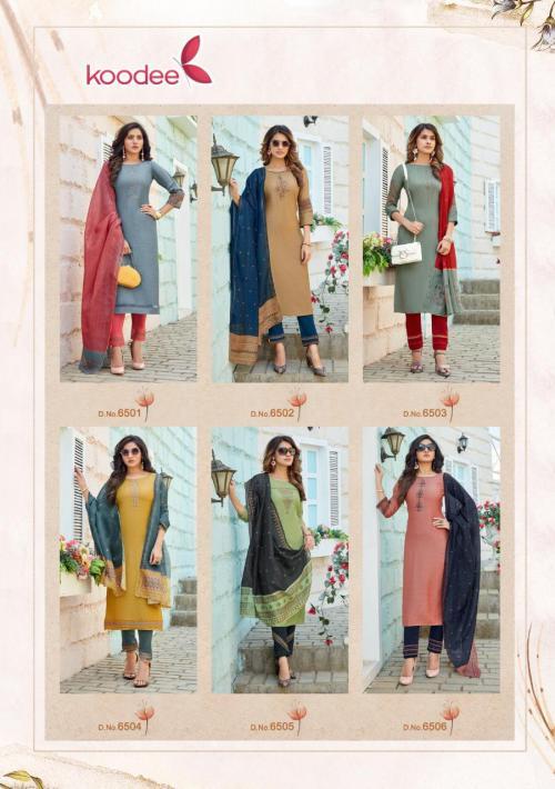 Koodee Sandhya 6501-6506 Price - 7470