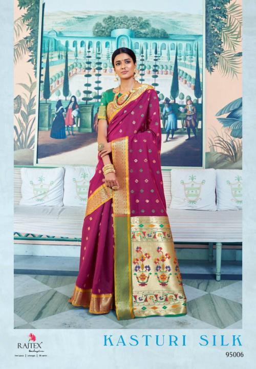Rajtex Kasturi Silk 95006 Price - 1295