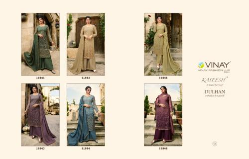 Vinay Fashion Kaseesh Dulhan 11941-11946 Price - Inquiry On Watsapp Number For Price