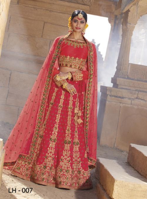 Jodha Wedding Lehengas LH-7 Price - 4369