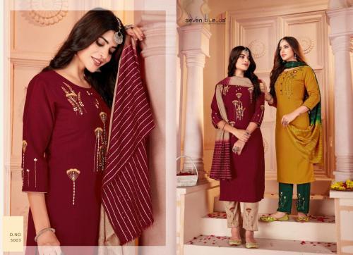 Seven Threads Noor 5003 Price - 1105