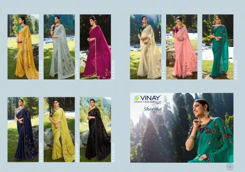 Vinay Fashion Sheesha Vibrant 23101-23109 Price - 11385