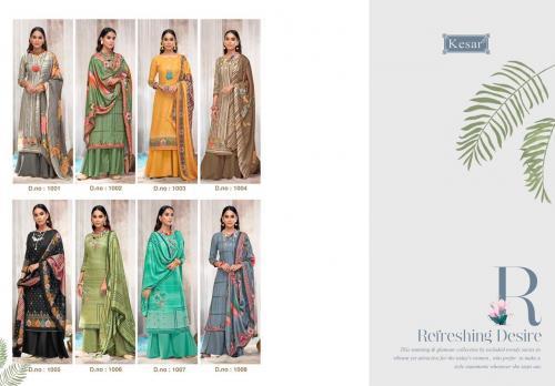 Kesar Trendz Shahin 101-108 Price - 5440