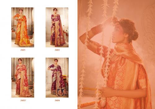 Manjolika Fashion Mira Silk 3401-3404 Price - 6380