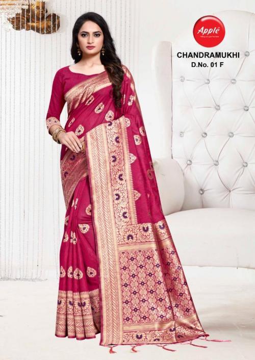 Apple Saree Chandramukhi 01-F  Price - 895