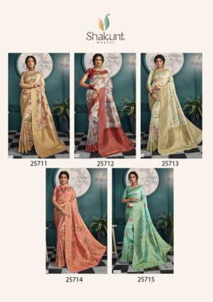 Shakunt Saree Kabirpanthi 25711-25715 Price - 9455