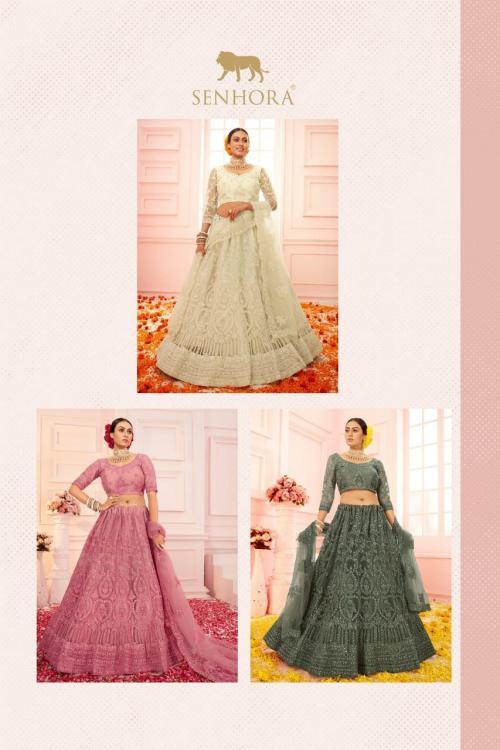 Senhora Bridal Heritage Colour Saga 2014 Colors  Price - 15597
