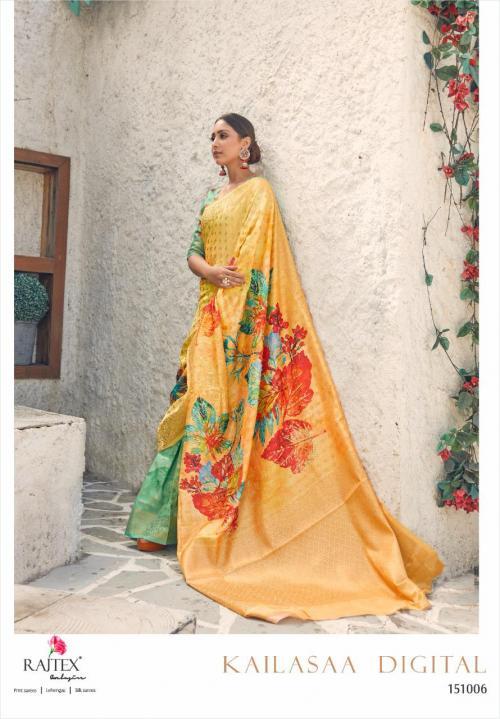 Rajtex Saree Kailasaa Digital 151006 Price - 1460
