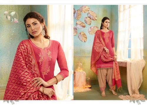 Kessi Fabrics Silk Patiyala 5377 Price - 999