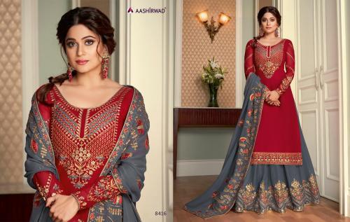 Aashirwad Creation Saara 8416 Price - 2895