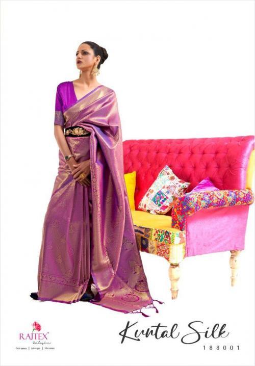 Raj Tex Kuntal Silk 188001-188009 Series