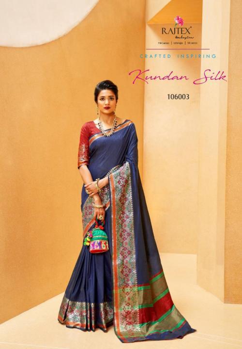 Rajtex Kundan Silk 106003 Price - 1135