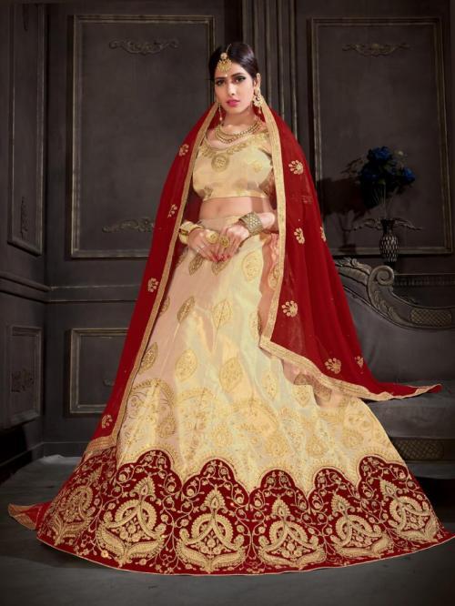 Natraj Lehenga Sangeetha 21002 Price - 1500