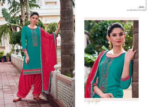 Kessi Fabric Patiala House Vol-85 5931-5938 Series