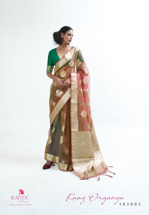 Raj Tex Kaaz Organza 183003 Price - 1725