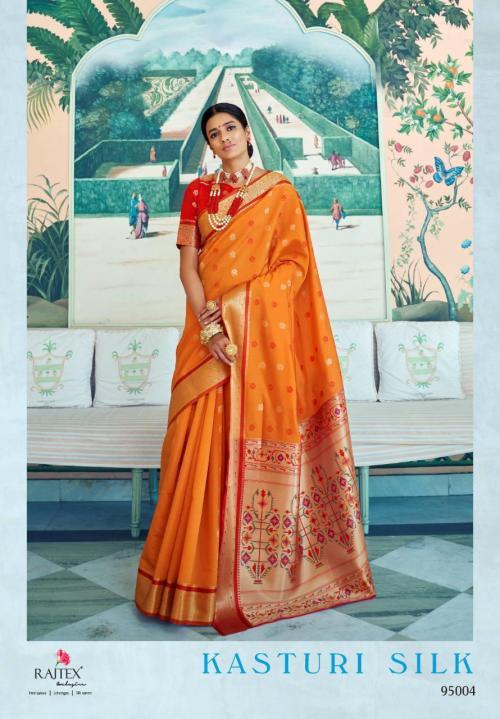 Rajtex Kasturi Silk 95004 Price - 1295