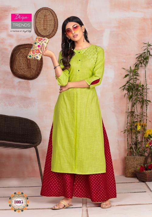 Diya Trendz Fashion Angel 1005 Price - 650