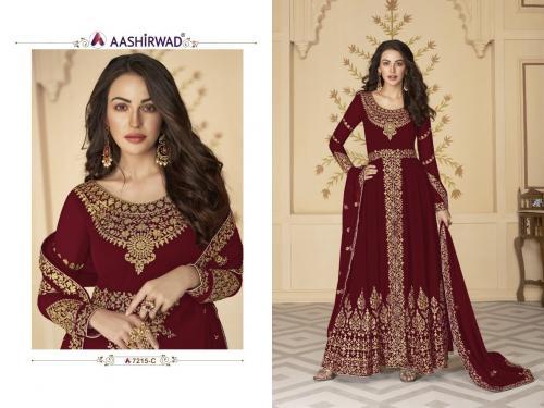 Aashirwad Creation Paakhi 7215 C Master Copy Price - 1660