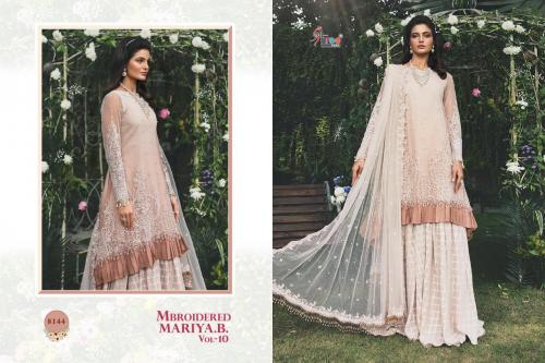 Shree Fabs Mbroidered Mariya B 8144 Price - 1399