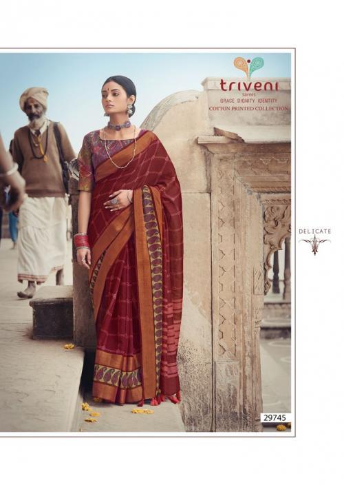 Triveni Saree Ganga Jamuna 29745 Price - 775
