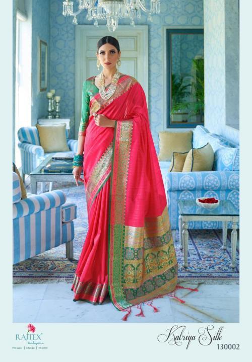 Rajtex Saree Katriya Silk 130002  Price - 1360