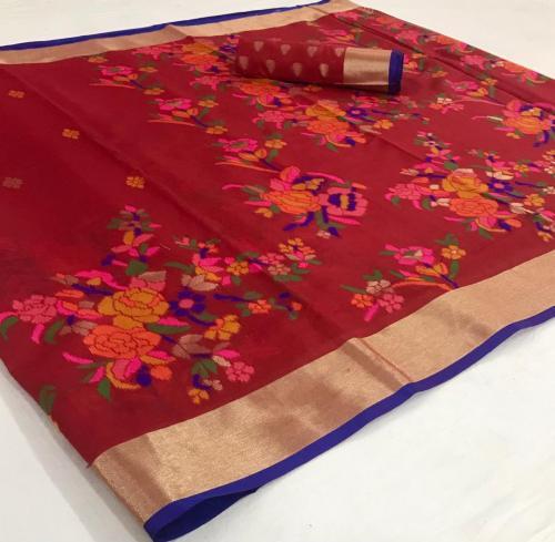Rajtex Saree Kushambika Silk 154001 Price - 1880