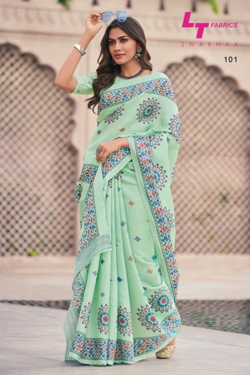 LT Fabrics Swarnaa 101-110 Series
