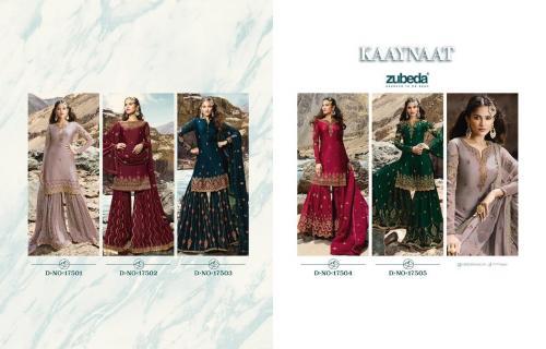 Zubeda Kaaynaat 17501-17505 Price - 8475