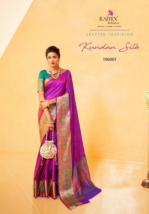 Rajtex Kundan Silk 106001-106008 Series