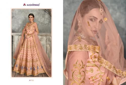 Aashirwad Creation Kaira 7224-7227 Series