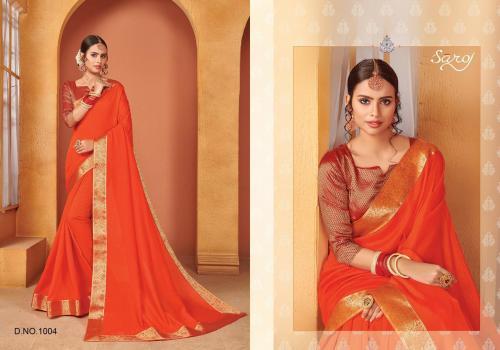 Saroj Saree Quality 1004 Price - 645