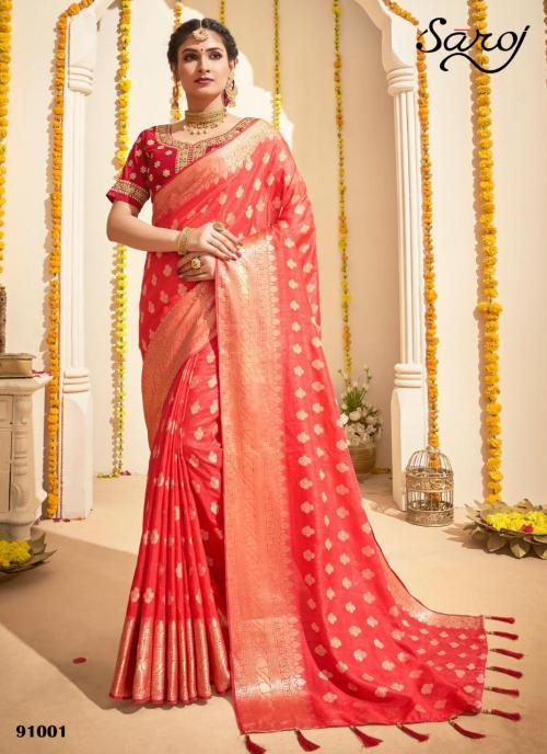 Saroj Saree Anokhi 91001-91006 Series