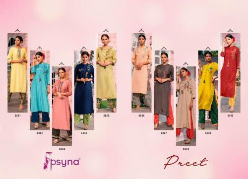 Psyna Preet 6001-6010 Price - 11500