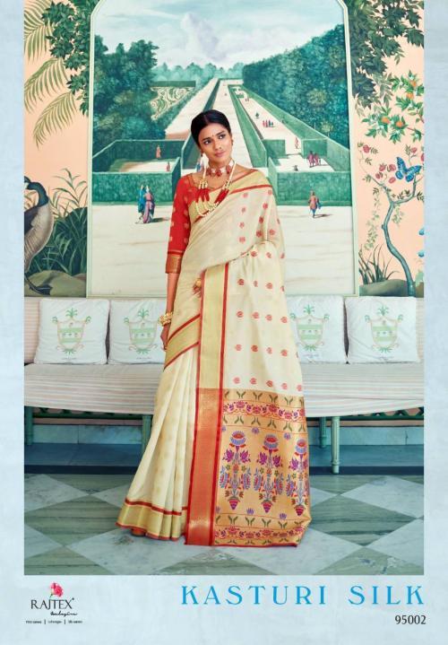 Rajtex Kasturi Silk 95002 Price - 1295