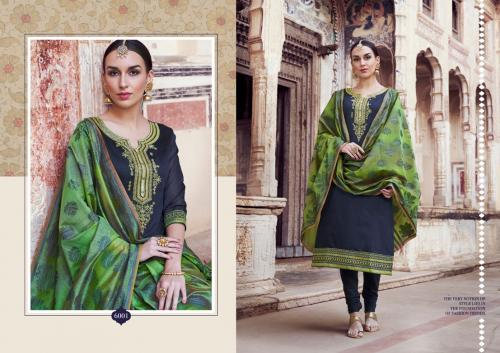 Kessi Fabrics Aabhushan Vol-5 6001-6010 Series
