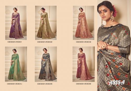 Asisa Saree Poorvi 5301-5306 Price - 7290